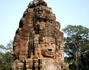 Angkor Thom Bayon Cambodia Siem Reap