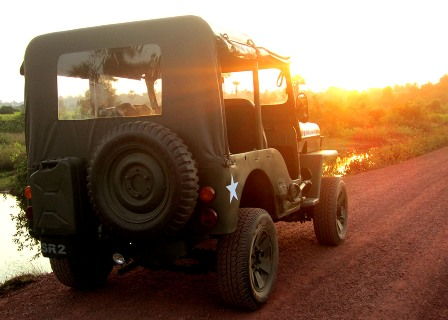 Champagne Sunset Jeep Tour