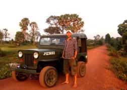 Jeep tour Cambodia