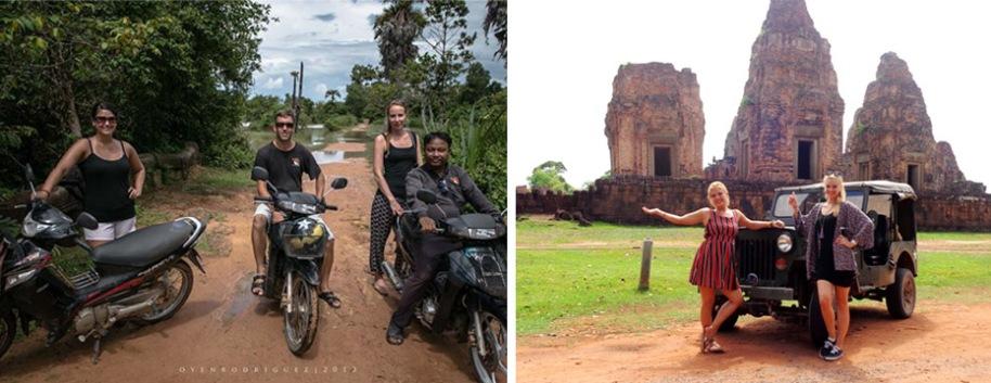 Sabai Adventures Cambodia - Moto & Jeep