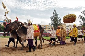 Royal Ploughing Day Cambodia