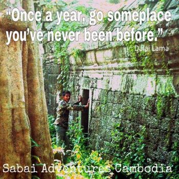 10 Awesome Travel Quotes | Sabai Adventures Cambodia