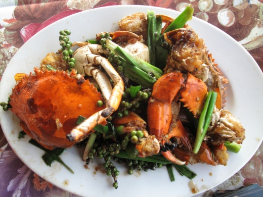 Cambodian Food Kampot Pepper Crab