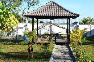 Villa Sabai - Gazebo and friendly Lucy